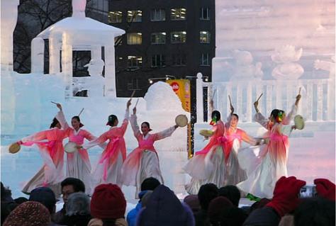 Vous aimez les danses coréennes ? Ca tombe bien, les organisateurs y ont aussi pensé !