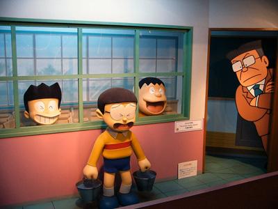Le pauvre Nobita puni