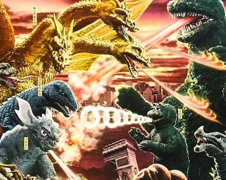 (posters) les Envahisseurs attaquent (Ishiro Honda – 1968)