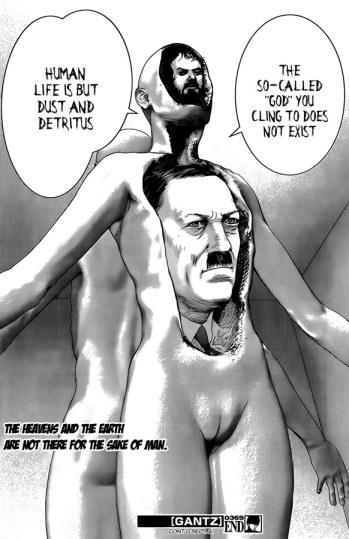 Gantz Kubrick Hitler