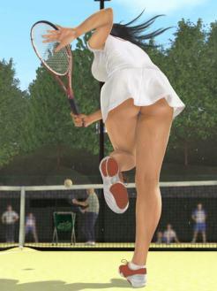 tennis bijin 5