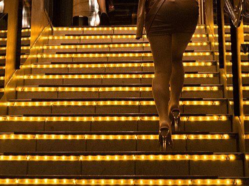 Le valseur de l'hôtesse est-il une illusion d'optique ?